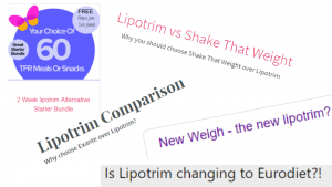 Diet comparisons acknowledge Lipotrim Ireland as the gold standard diet